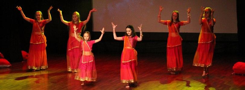 taniec indyjski w MDK Batory